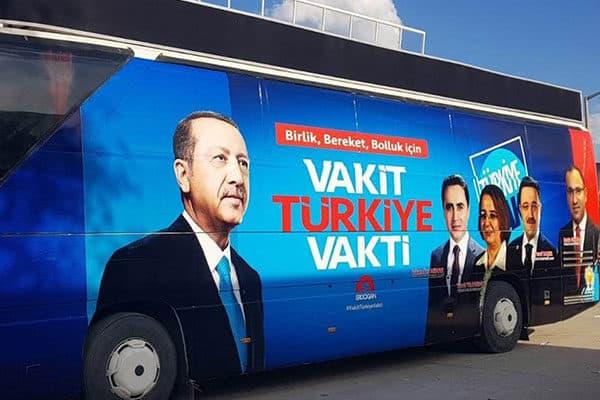 Seçim Otobüsleri Avantajları