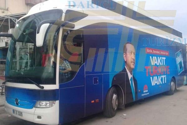 Kiralık Seçim Otobüsü Nasıl Temin Edilir?