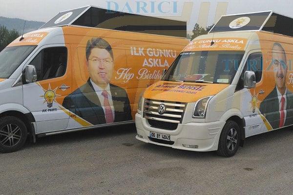 Seçim Otobüsü Kiralama