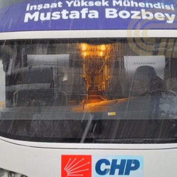 Bursa CHP otobus on 2019