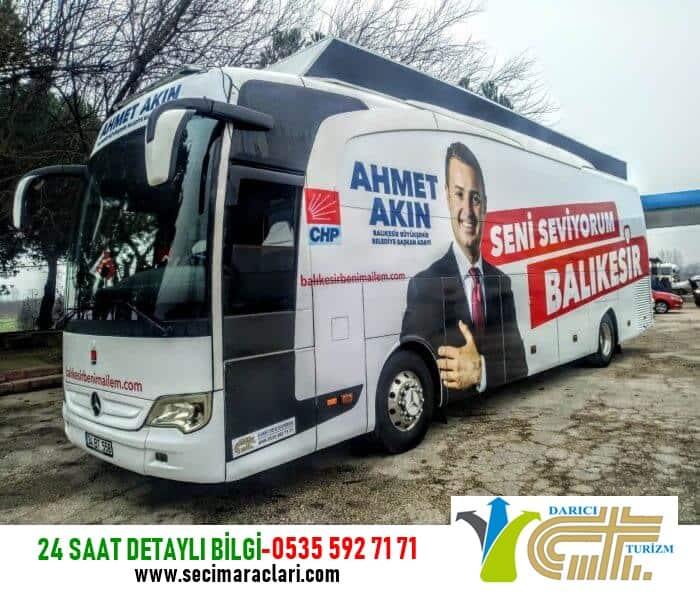 Gaziantep Seçim Otobüsü