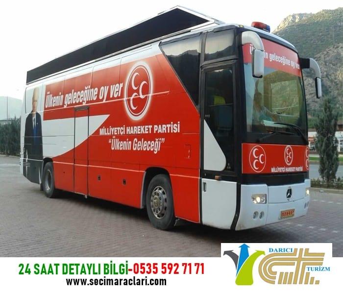 İstanbul Seçim Otobüsü Kiralama