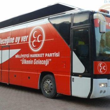 MHP Secim Otobusu